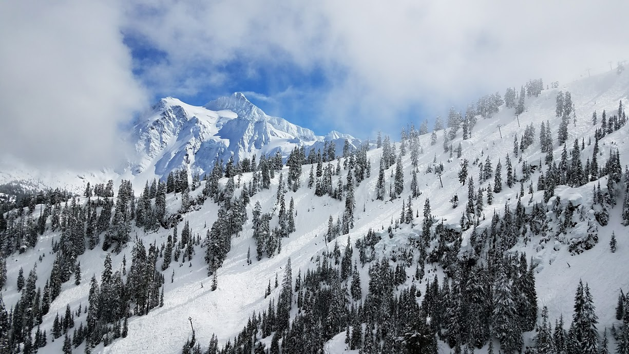 Mt. Baker area, March 30, 2017